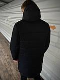 """Демисезонная Куртка """"Fusion"""" бренда Intruder черная, фото 5"""