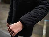 """Демисезонная Куртка """"Fusion"""" бренда Intruder черная, фото 7"""