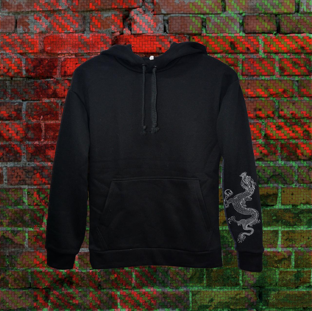 Худи A SHO Dragon XL черный