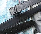 Кожаный ремень Louis Vuitton унисекс black, фото 3