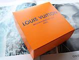 Кожаный ремень Louis Vuitton унисекс black, фото 6