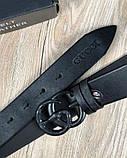 Ремень Gucci Змея Черный, фото 6