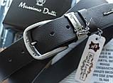 Кожаный ремень Massimo Dutti черный, фото 2