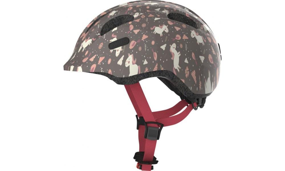 Велосипедний дитячий шолом ABUS SMILEY 2.0 M 50-55 Rose Horse 869969