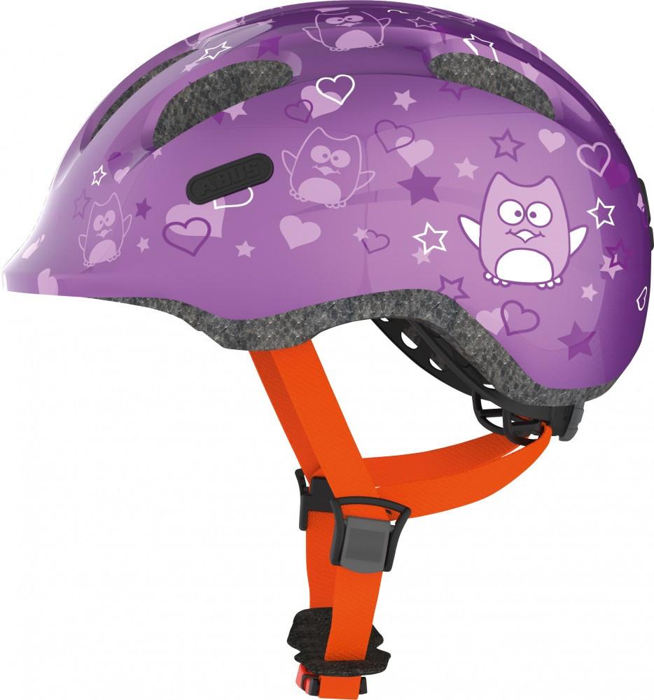 Велосипедний дитячий шолом ABUS smiley 2.0 M 50-55 Purple Star 725692