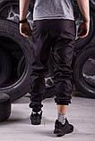 Комплект Nike Windrunner Jacket камуфляж серо-черный +Штаны President черные + Барсетка в подарок, фото 10