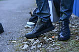 Ботинки укороченные натуральная кожа черные, фото 2
