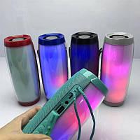 Блютуз Колонка TG157 Портативная с Подсветкой /Влагозащита/Bluetooth/USB/AUX, фото 1