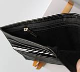 Мужской подарочный набор Philipp Plein 02 - ремень и кошелек черные, фото 5