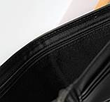 Мужской подарочный набор Philipp Plein 03 - ремень и кошелек черные, фото 7