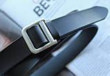 Женский кожаный ремень Dior ширина 2.5 см черный, фото 3