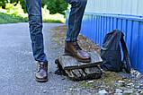 Ботинки коричневые натуральная кожа гладкая, фото 2