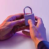 Замок навісний Abus Touch Fingerprint 56/50 865312 Silver, фото 2