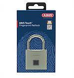 Замок навісний Abus Touch Fingerprint 56/50 865312 Silver, фото 3