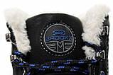Черевики чоловічі Badoxx 44 Black, фото 9
