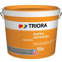Краска фасадная акриловая TRIORA, 10 л