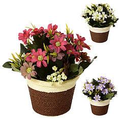 Декор T15-22 квіти, 23 см