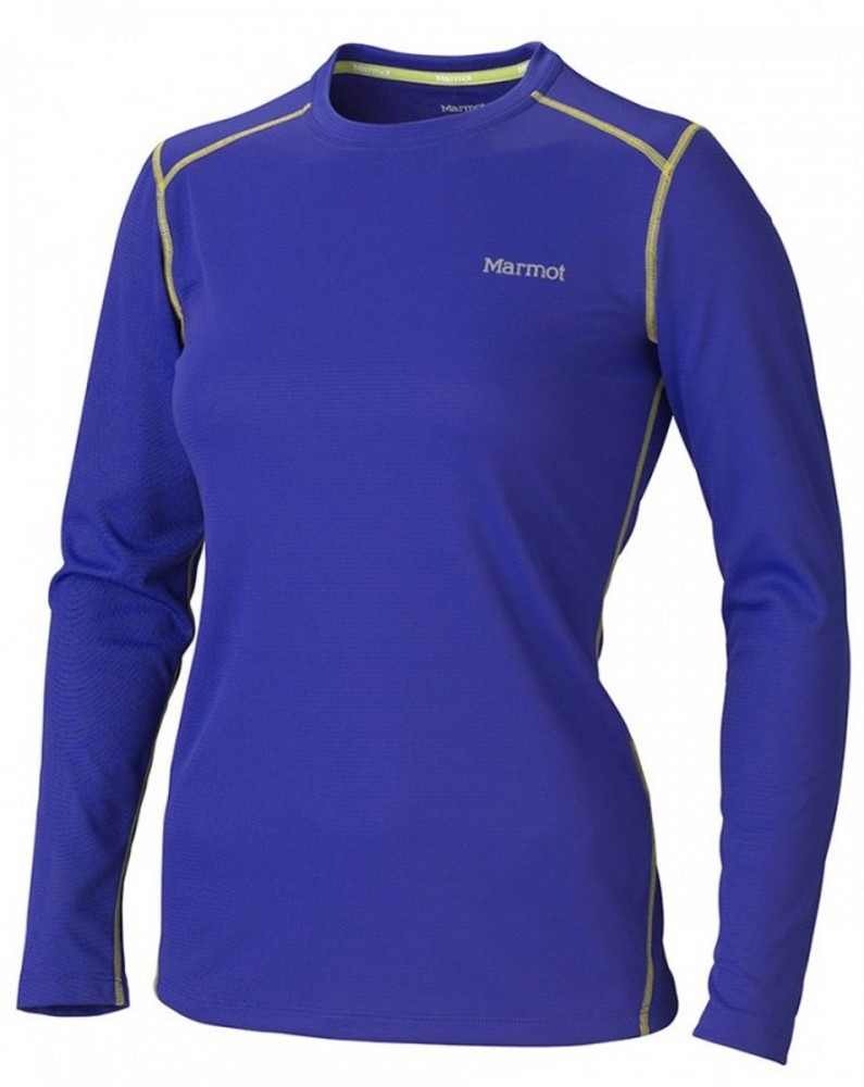 Термокофта Marmot Wm's ThermalClime Sport LS Crew electric blue 12740.2692