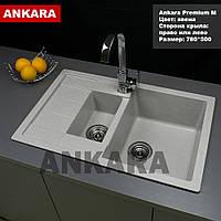 Кухонная мойка для кухни Анкара Premium M
