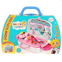 """Детский игровой набор в чемодане You Jaxin """"Счастливый доктор"""" Happy Doctor Blue (2_009723)"""
