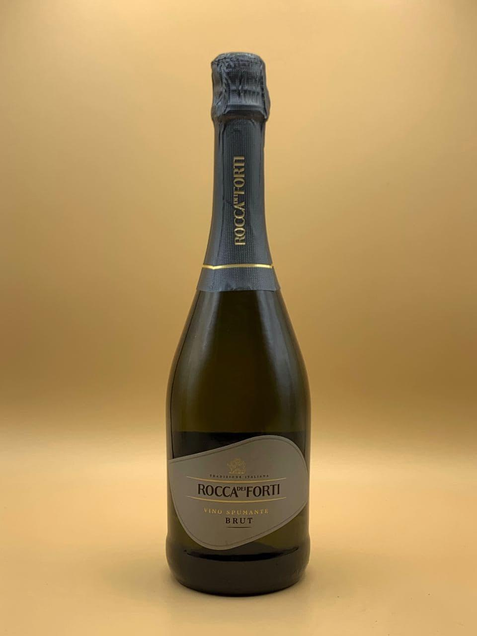 Игристое вино Rocca del Forti Brut 0.75L Рокка дей Форти Брют 0.75л