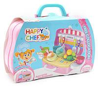 """Детский игровой набор в чемодане You Jaxin """"Счастливый повар"""" Happy Chef (2_009722)"""