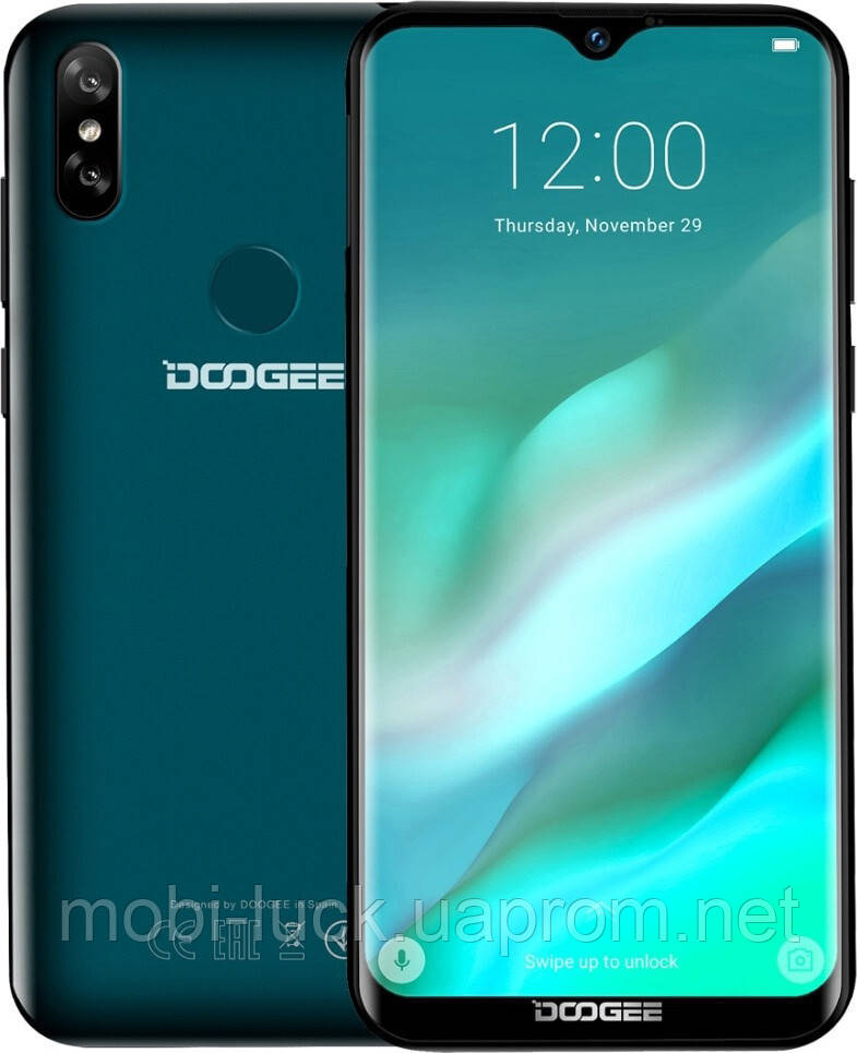 Смартфон Doogee Y8 3/32GB Green