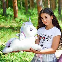 Єдиноріг м'яка іграшка велика 45 см, фото 1