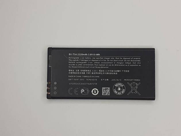 Аккумулятор Nokia BV-T5A 730/ 735 Lumia оригинал ,б.у., фото 2