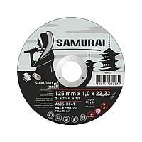 Диск отрезной по металлу Virok 60V125 Samurai 125*1*22,23 мм
