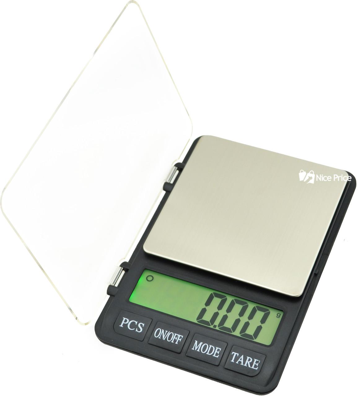 Карманные ювелирные электронные весы MIHEE 0.01-600 гр MH-999 (11805)