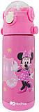 Термос детский с поилкой и шнурком на шею Disney 603 350 мл Микки Маус Розовый, фото 3