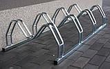 Велопарковка на 6 велосипедів Smile-6 Польща, фото 4