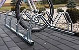 Велопарковка на 6 велосипедів Smile-6 Польща, фото 6