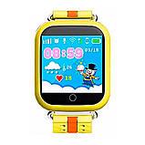 Умные детские часы Smart Baby Q100-S (Q750, GW200S) GPS, Wifi Yellow, фото 2