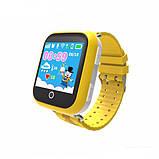 Умные детские часы Smart Baby Q100-S (Q750, GW200S) GPS, Wifi Yellow, фото 3