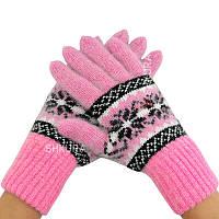 Жіночі рукавички, подовжені 06