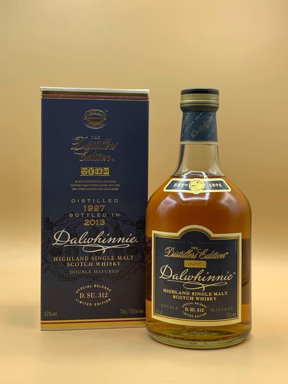 Виски Dalwhinnie Distillers Edition 1997-2013 0.7L Далвини Дистиллерс Эдишн 0.7л