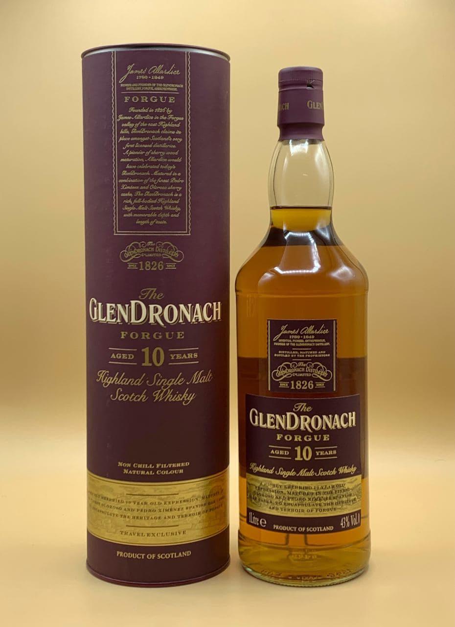 Виски GlenDronach Forgue 10 y.o. 1L Глендронах Форг 10 лет 1л