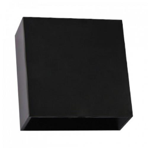 Настенный фасадный светильник SEKOYA 2x2W черный с регулируемым углом свечения IP65 Код.59790