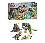 Конструктор Bela 11337  бой Тиранозавра  с динозаврами, фото 5