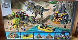 Конструктор Bela 11337  бой Тиранозавра  с динозаврами, фото 2