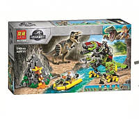 Конструктор Bela 11337 бой Тиранозавра с динозаврами