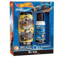 Набор Bi-Es Hot Wheels гель для душа + дезодорант-спрей (5905009046712)