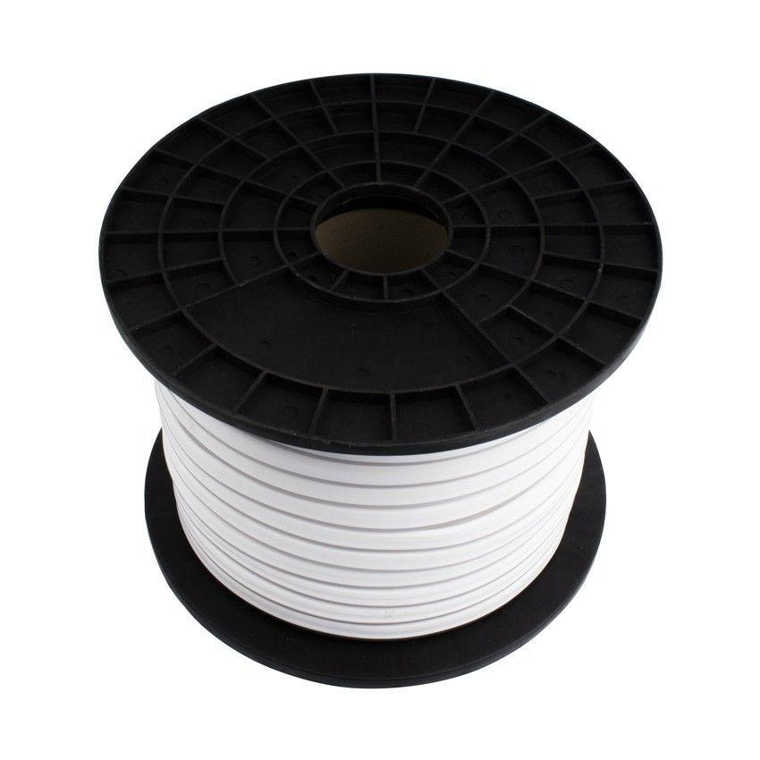 Светодиодный LED гибкий неон PROLUM 2835120 IP68 220V, Тепло-белый