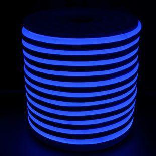 Светодиодный LED гибкий неон PROLUM 2835120 IP68 220V, Синий
