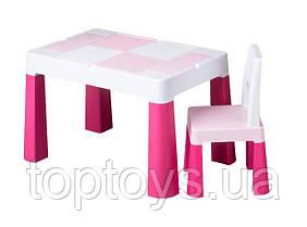 Набір меблів Tega Baby Multifun стіл і стілець рожевий (MF-001-123)