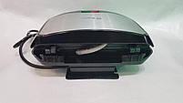 Вафельниця Domotec MS-7705 Чорна (750Вт, квадратна), фото 8