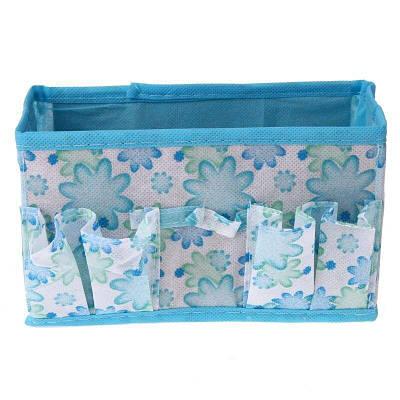Органайзер коробка для дрібниць (блакитний)