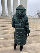Длинный пуховик одеяло Rufuete 19988, фото 5